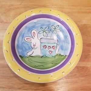 Everyday Living Bunny Rabbit Dessert Plates
